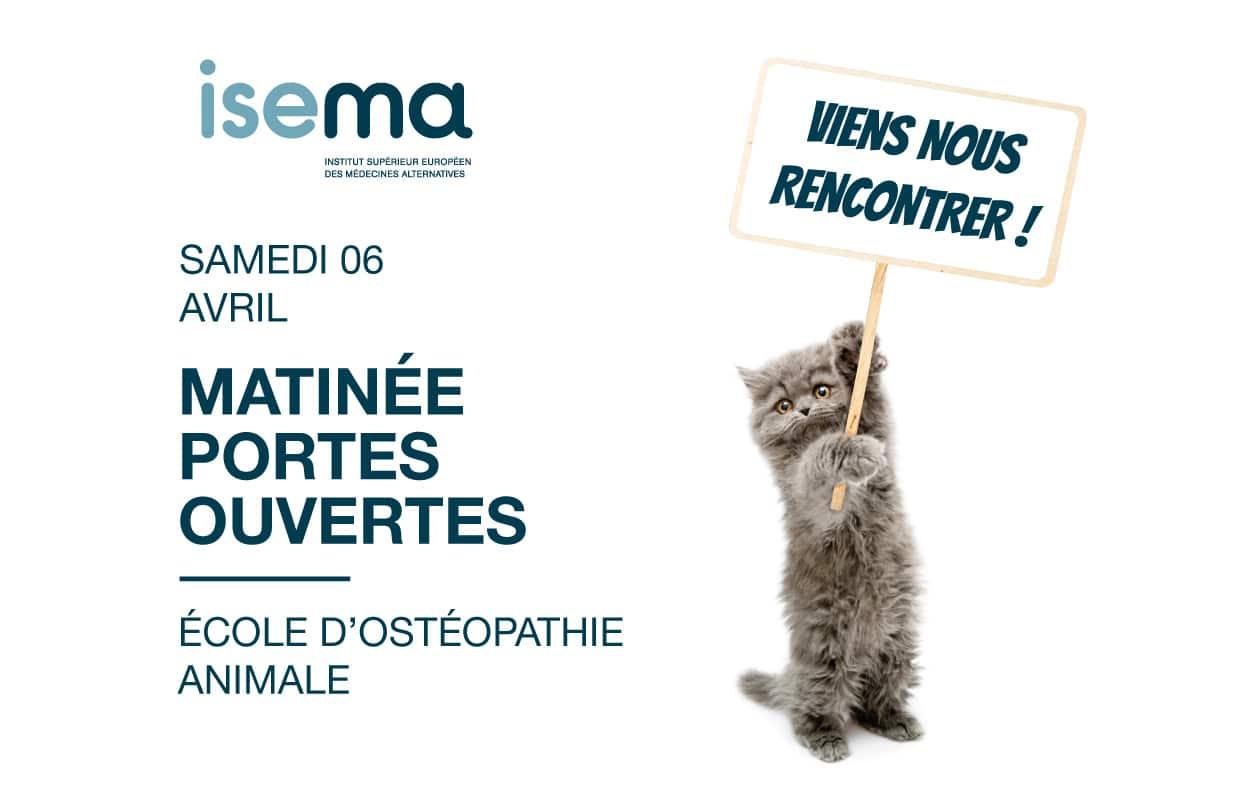 Matinée-portes-ouvertes-samedi-6-avril-ISEMA-école-ostéopathie-animale